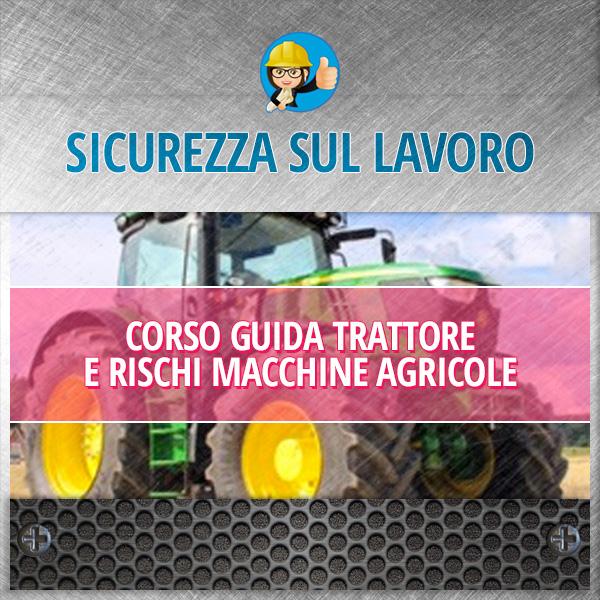 corso guida trattore e macchine agricole
